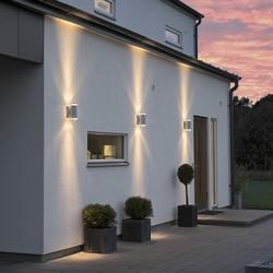 Buiten wandlamp Modena 2-lichts Gegalvaniseerd staal