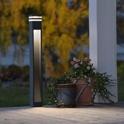 Staande buitenlamp Massa LED antraciet 100cm