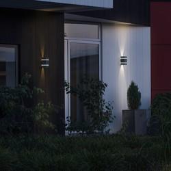 Buiten wandlamp Cremona PowerLED 2x 3W Antraciet