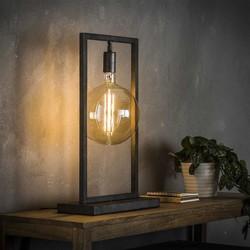 Minimalistische Tafellamp Bruce Oud zilver