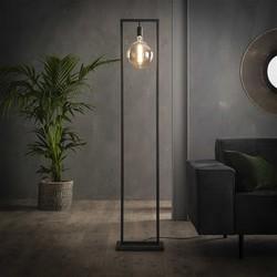Minimalistische Vloerlamp Bruce Oud zilver