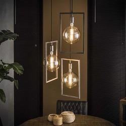 Moderne hanglamp Bruce 3-lichts getrapt