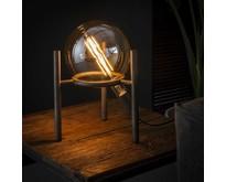 Industriële - Tafellamp - Oud zilver - Laag - Saturnus