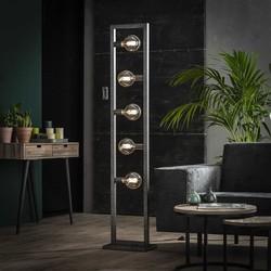 Vloerlamp Skye 5-lichts Oud zilver