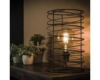 Modern industriële tafellamp Missouri spiraal