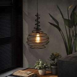 Hanglamp Hunter 1-lichts Zwart