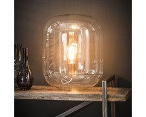 Moderne - Tafellamp - Transparant - Glas - Dakota