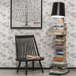 Vloerlamp Cambridge Boekenstandaard Zwart