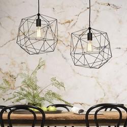 Moderne hanglamp Copenhagen zwart