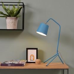 Tafellamp 3-poot Barcelona blauw
