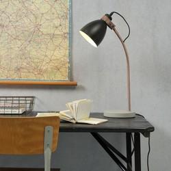 Tafellamp Denver Beton Zwart