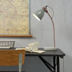 Tafellamp Denver lichtgrijs