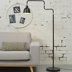 Uittrekbare Vloerlamp London Zwart