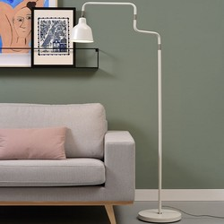 Moderne vloerlamp London wit