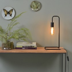Minimalistische Tafellamp London Zwart
