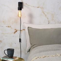 Design Wandlamp Madrid Zwart