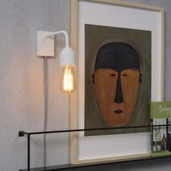 Moderne wandlamp Madrid wit