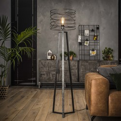 Vloerlamp Missouri Ø40 cm Charcoal