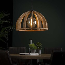 Hanglamp Fay Ø60 cm Bruin