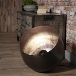 Vloerlamp Zenzi XL Ø50 cm zwart nikkel