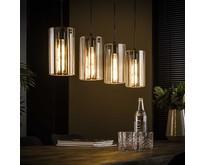 Moderne - Hanglamp - Brons antiek - 4 lichts - Pico