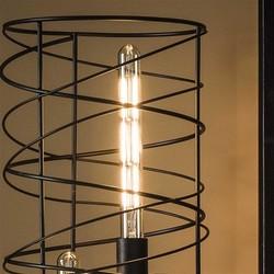 LED filament buis 30 cm - E27 4W 2100K 280lm dimbaar / Amberkleurig glas