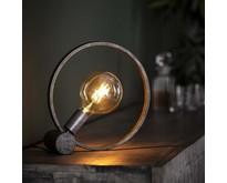 Vintage - Tafellamp - Oud zilver - 30 cm - Ringo