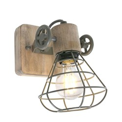 Wandlamp Geurnesey 1-lichts Groen