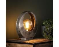 Industriële - Tafellamp - Oud zilver - Stoere - Full Moon