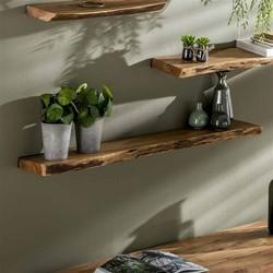 Wandplank Kayne 120 cm acaciahout