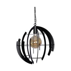 Hanglamp Terra Ø60 cm zwart