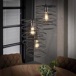 Hanglamp Missouri 3-lichts Charcoal