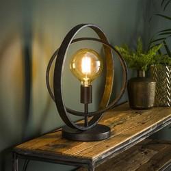 Tafellamp Ozon 1-lichts Charcoal