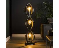 Moderne - Vloerlamp - Charcoal - 3 lichts - Ozon