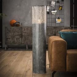Vloerlamp Pisa Ø25cm rond 120cm hoog grijs