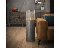 Moderne - Vloerlamp - Grijs - 90 cm - Pisa