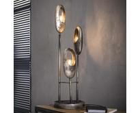 Moderne - Tafellamp - Oud zilver - 3 lichts - Clump