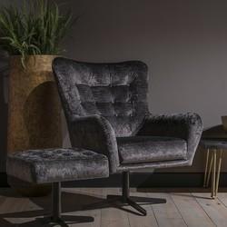 Stoere landelijke fauteuil Flynn