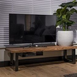 TV dressoir Live Edge 130 cm