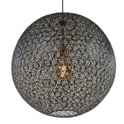 Hanglamp Oronero 60cm zwart goud