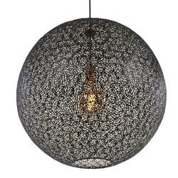 Hanglamp Oronero 40cm zwartgoud