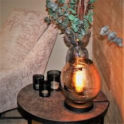 Tafellamp Fantasy Glas Zwart