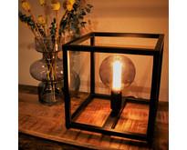 Moderne - Tafellamp - Zwart - 28 cm - Palco
