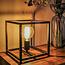 Freelight Moderne - Tafellamp - Zwart - 22 cm - Palco