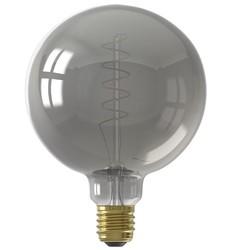 Calex  LED E27 4W  Ø 12,5 cm Titanium  spiraal 2100K