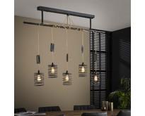 Moderne - Hanglamp - Grijs - 5 lichts - Buva