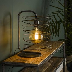 Vloerlamp Tourne 1-lichts Charcoal