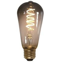 LED Edison titanium 7W spiraal 3 standen 2200K lichtbron