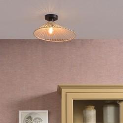 Plafondlamp Bromo asymmetrisch Ø40 cm Naturel