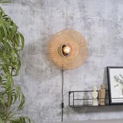 Wandlamp Bromo Bamboe small Naturel